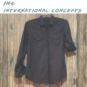 "NWT 'INC International Concepts"" Casual Shirt"